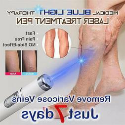 US Blue Light Therapy Varicose Veins Pen - Soft Scar Wrinkle