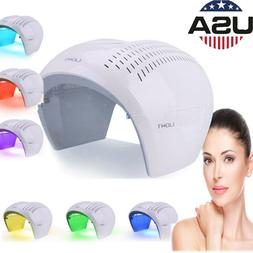 US PDT photon light Therapy 7Colors Led Face Mask Light Lamp